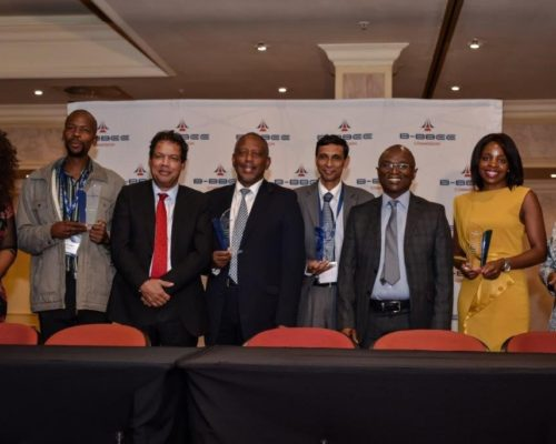 Menston Holdings Pty Limited and Leomat Contruction Pty Limited received an award from the B-BBEE Commission on 14 March 2019 2
